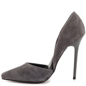 Steve Madden Varcityy D'Orsay Suede Pump